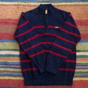 Vineyard Vines youth mock sweater
